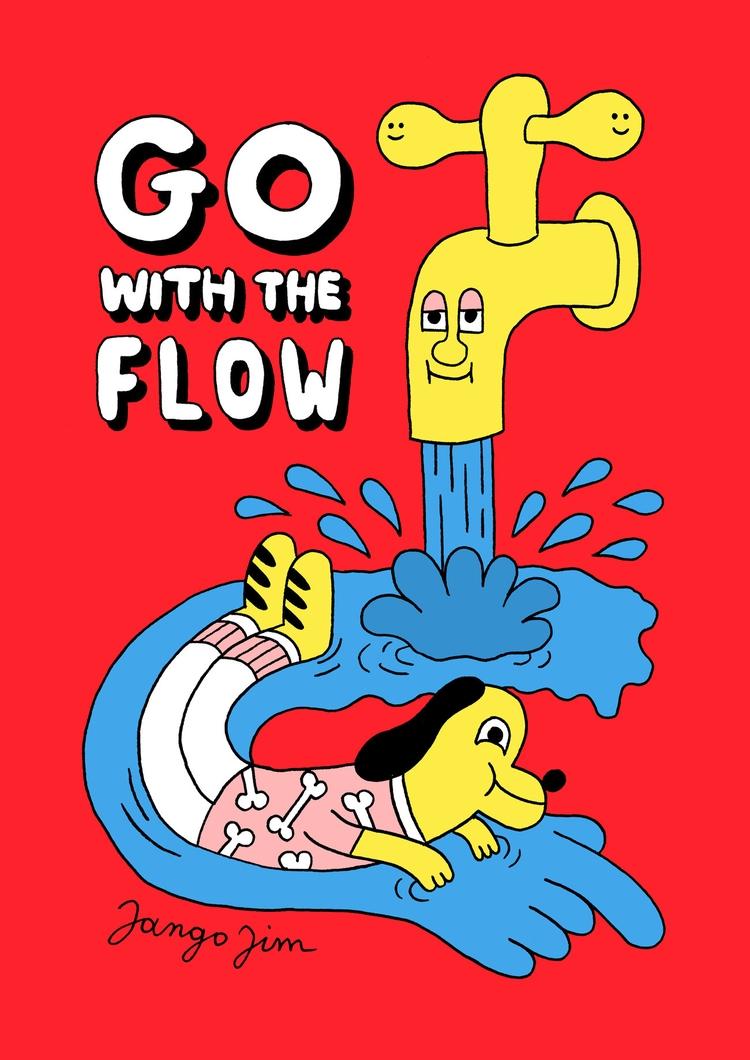 follow flow. Colored version dr - jangojim | ello