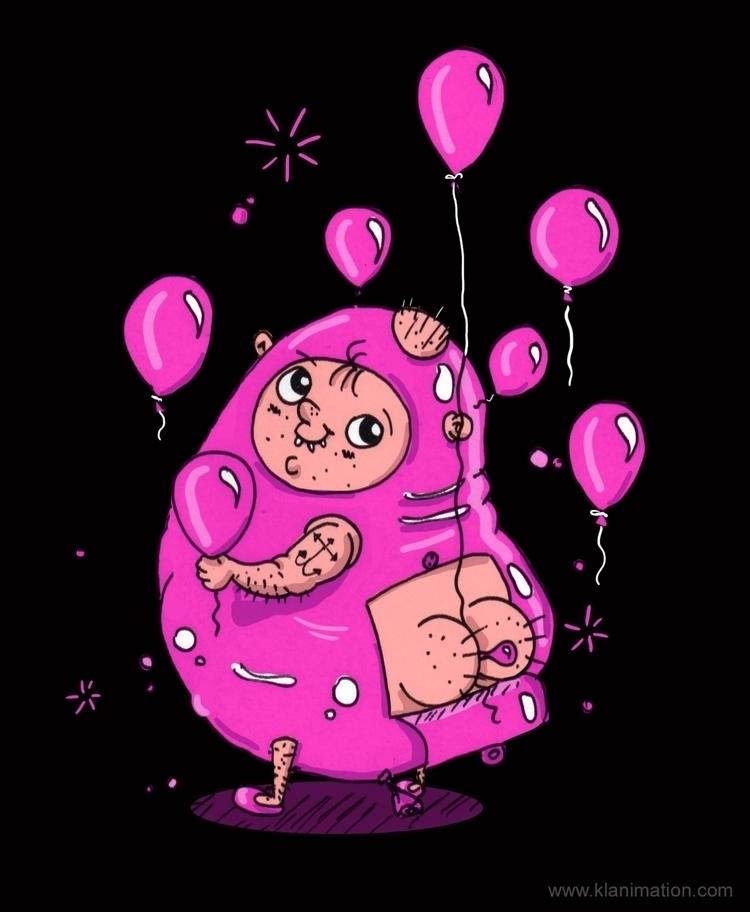 Squeaky - fetish, balloons, squeeky - klanimation | ello