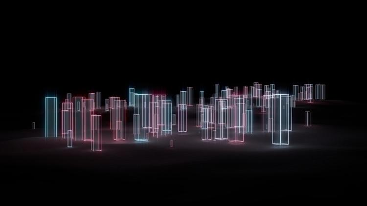 Minimalist dark landscape light - kevinloustau | ello