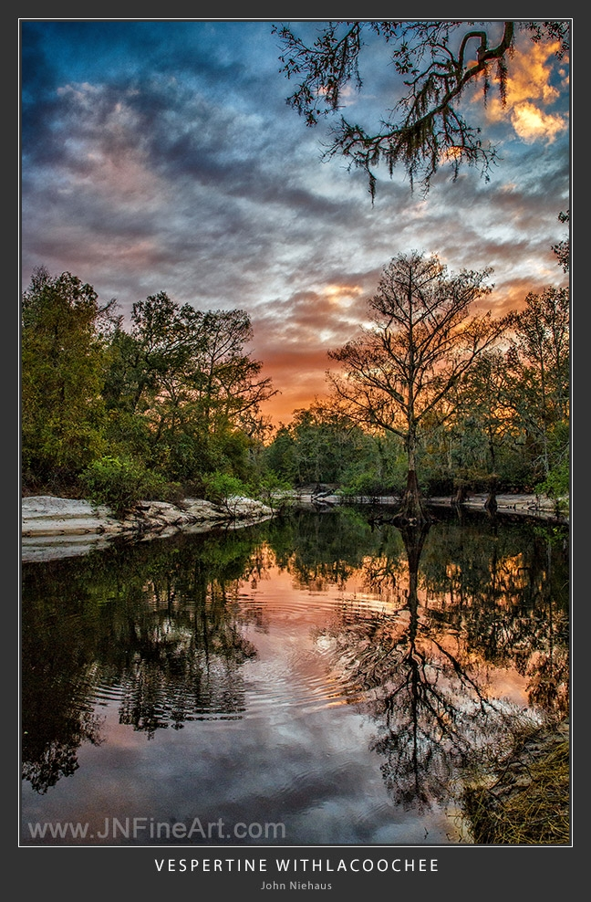 Sunset Withlacoochee River Flor - armadillo7 | ello