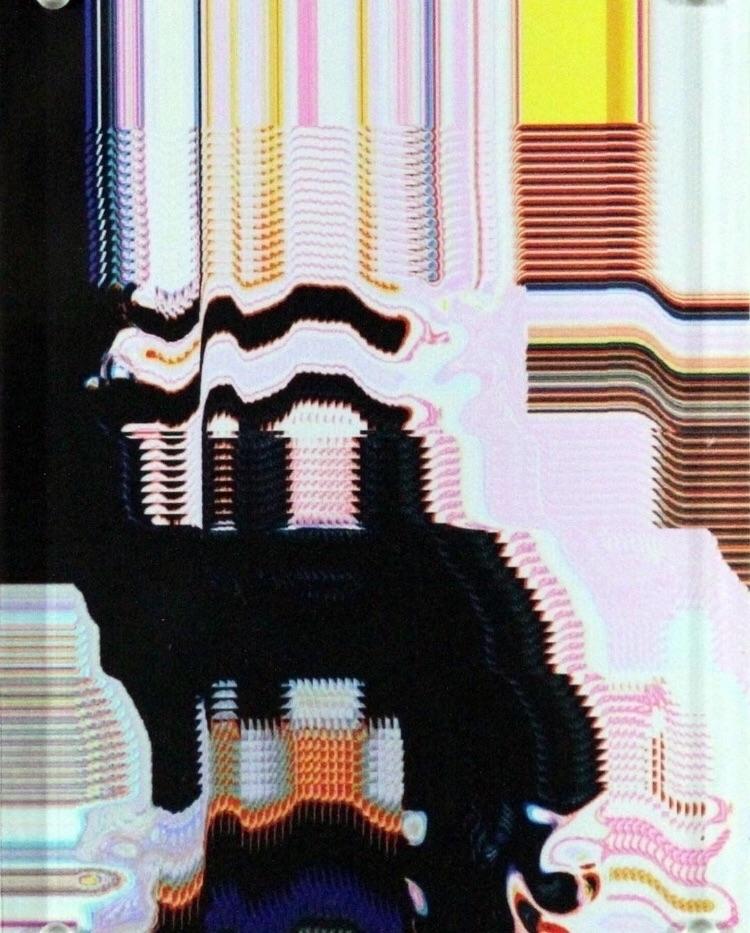 Lil Peep Perle Digital Art Canv - bitfactory | ello