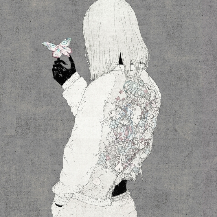 Ushiro Kotaro Chiba 2017 - illustration - kotaro_chiba | ello
