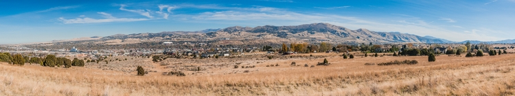 Pocatello panoramic view city P - mattgharvey | ello