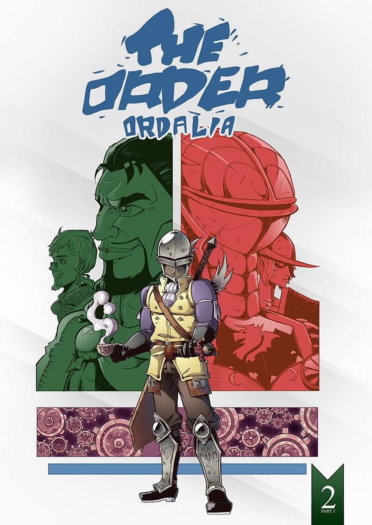 Order: Ordalia Part 1 Review Wa - comicbuzz   ello