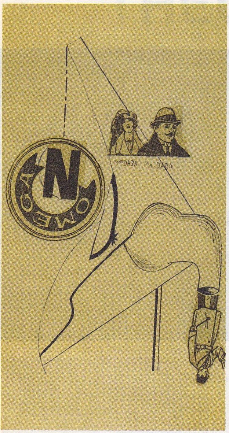 Theo van Doesburg, Mme Dada, 19 - ellodadaism | ello