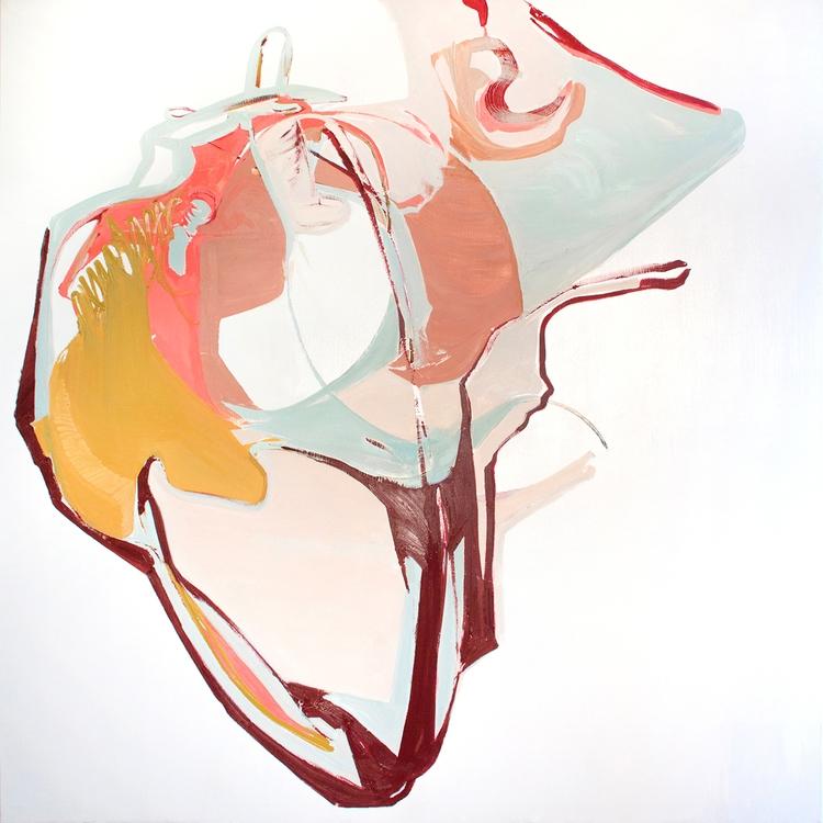 Dione 2017, oil canvas, 153 cm - tinavonhase | ello