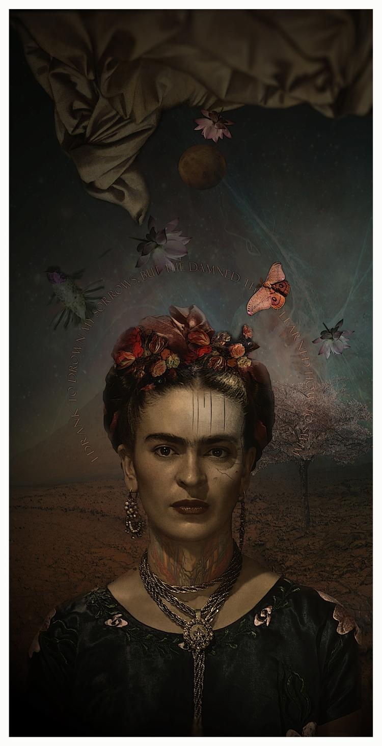 collage#frida#lady sorrows#alte - astroturf | ello