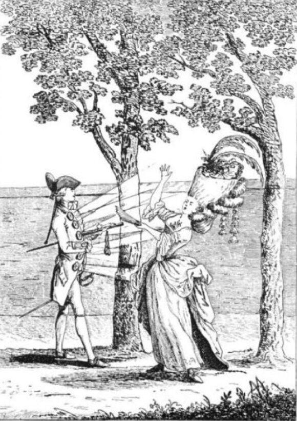 Coup de Bouton, French caricatu - broodingsquid | ello