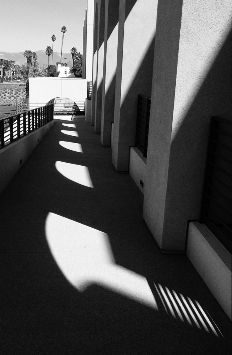 bw, riverside, california, shadow - takwish | ello