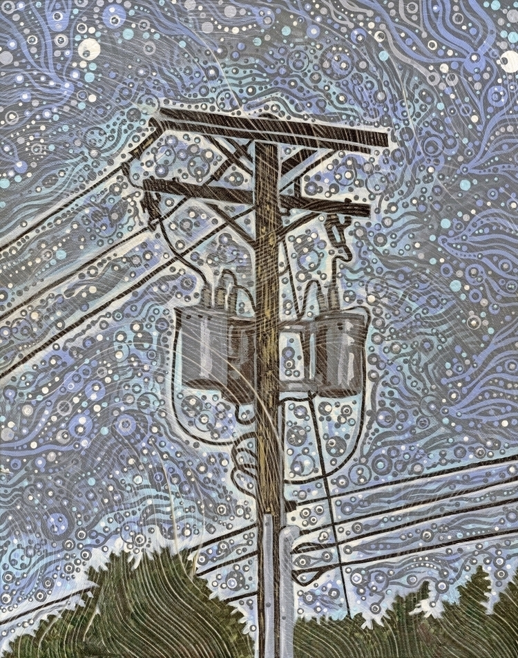 Telephone Pole 2016 -- 16 20 ac - micksylvestre | ello