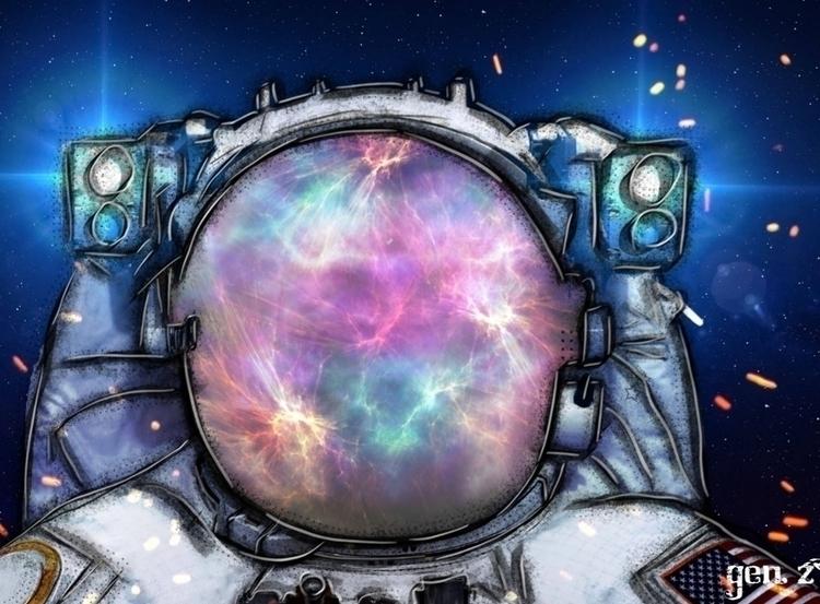 Space Cowboy. Link Shop - artwork - gen_z   ello