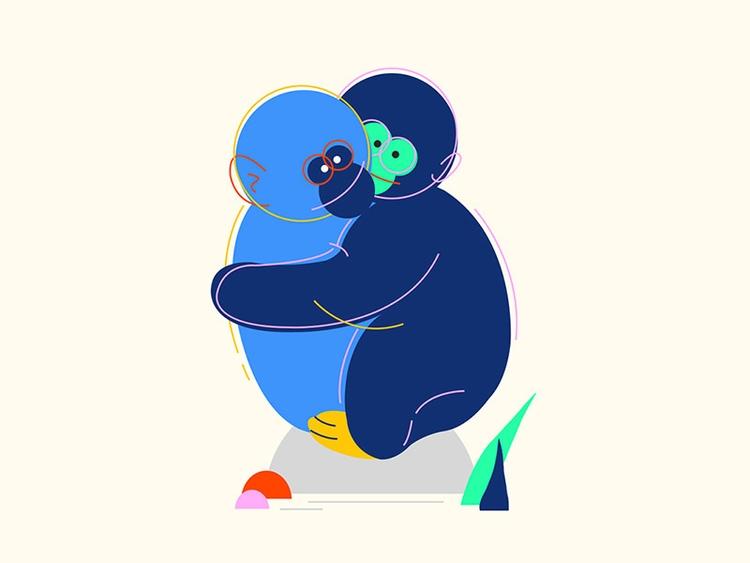Hug - busrauzgun | ello