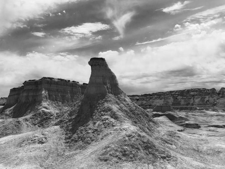 Badlands - Blackandwhitephotography - davidjdeal | ello