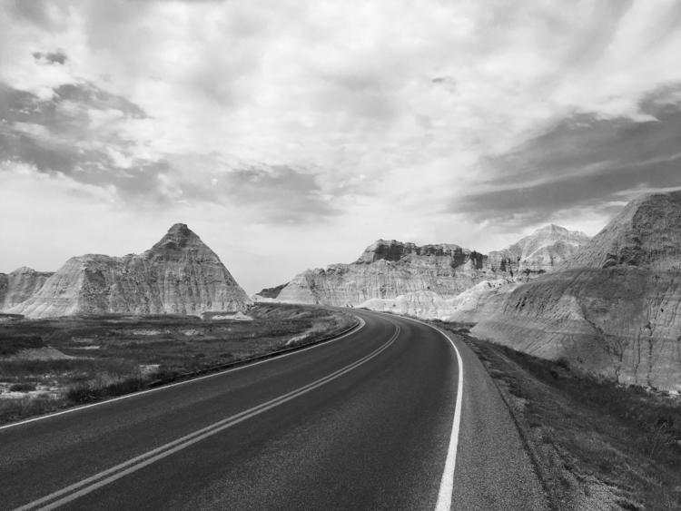 road - Blackandwhitephotography - davidjdeal | ello