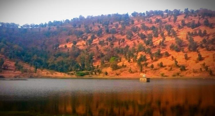 India, Lake, Mountain, Trees - atulbw | ello
