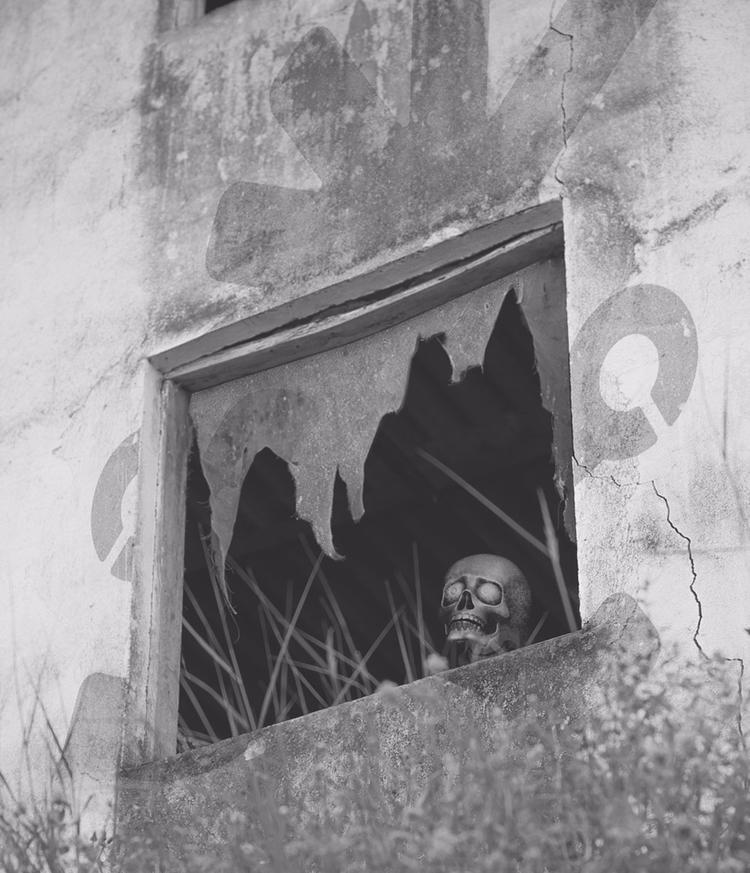 dead dreaming - skull, sad, grass - natxodiego | ello