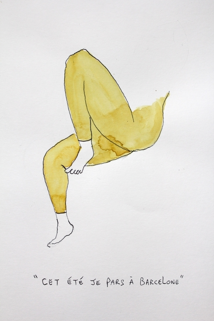 dessins, illustration, drawingart - magaliseghetto   ello