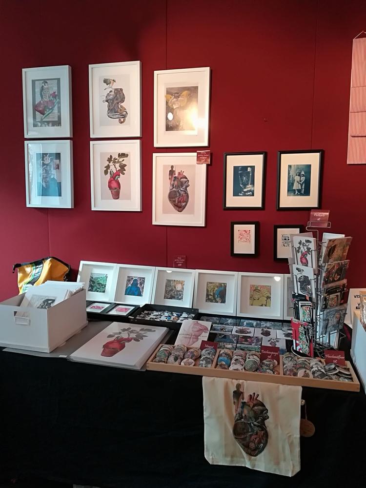 art market year! cutpste/2016 - artmarket - papiergedanken-collage-art | ello
