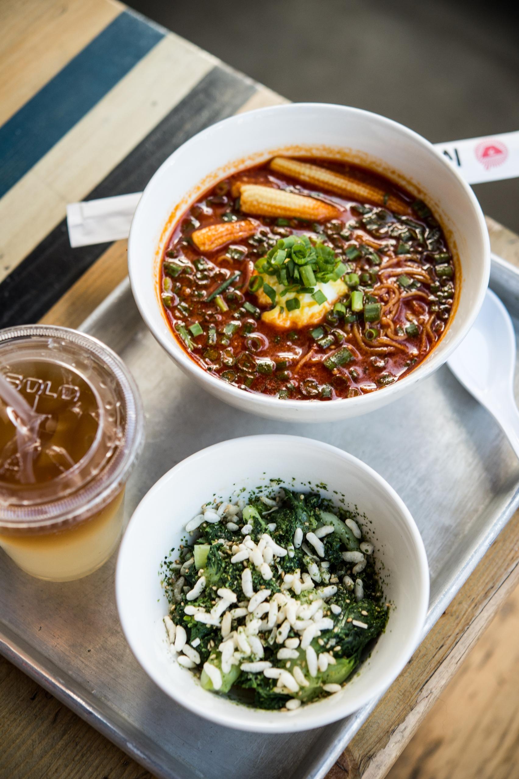 Spicy ramen lunch special Slurp - danielkrieger | ello