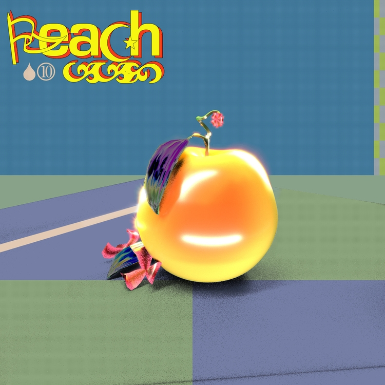 Peach - 3d, c4d, cgi, illustration - mos | ello