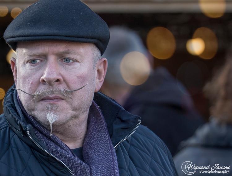 Christmas mustache - artmen | ello