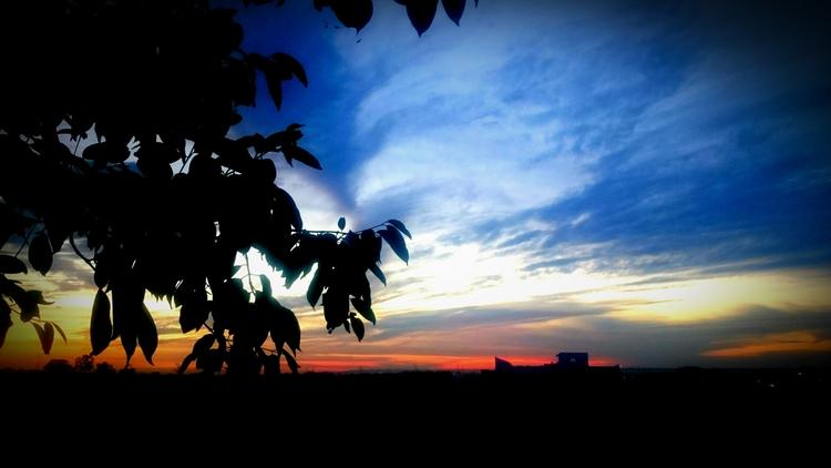 India, Sunset - atulbw | ello