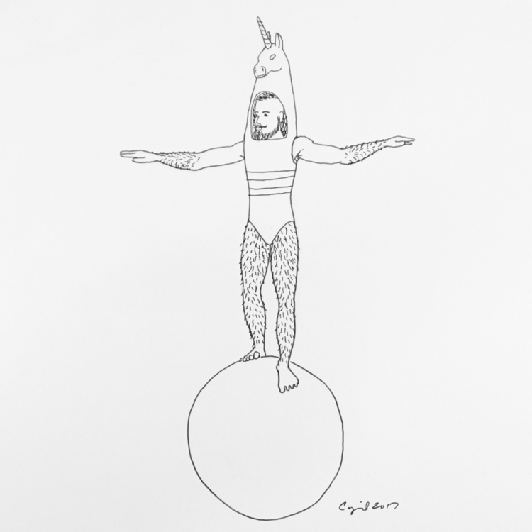 """Finding Balance"", 2017, pigmen - cupidojala | ello"