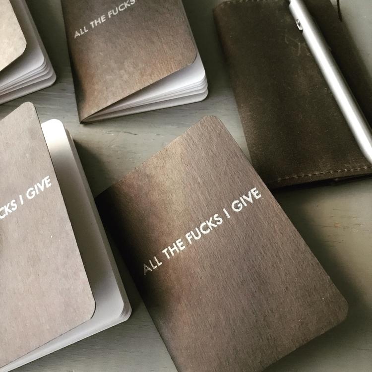 blank | - letterpress, notebook - sheasmith | ello