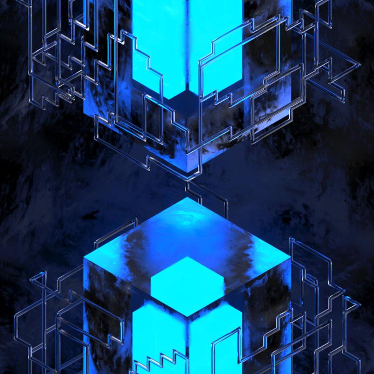 Blue Ice - 3d, c4d, render, cinema4d - petr_lahodny | ello