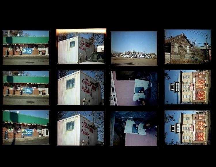 4x5 contact sheets - colorfilm, mediumformat - annajacobson | ello