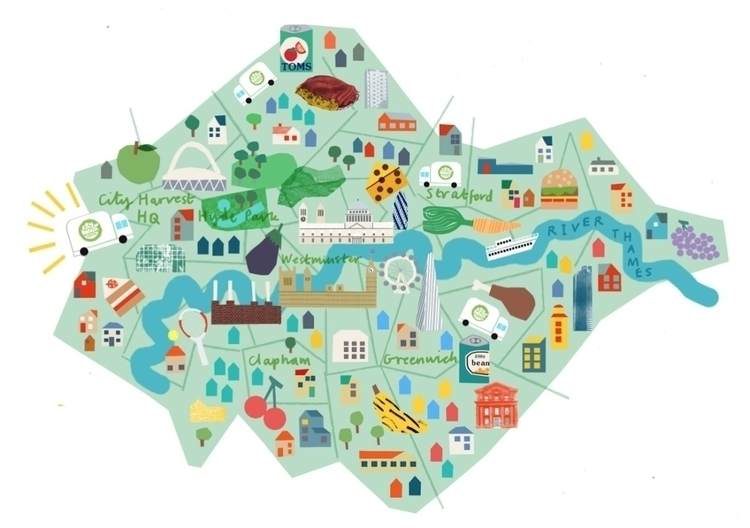 map month city harvest london-  - lizzielomax | ello