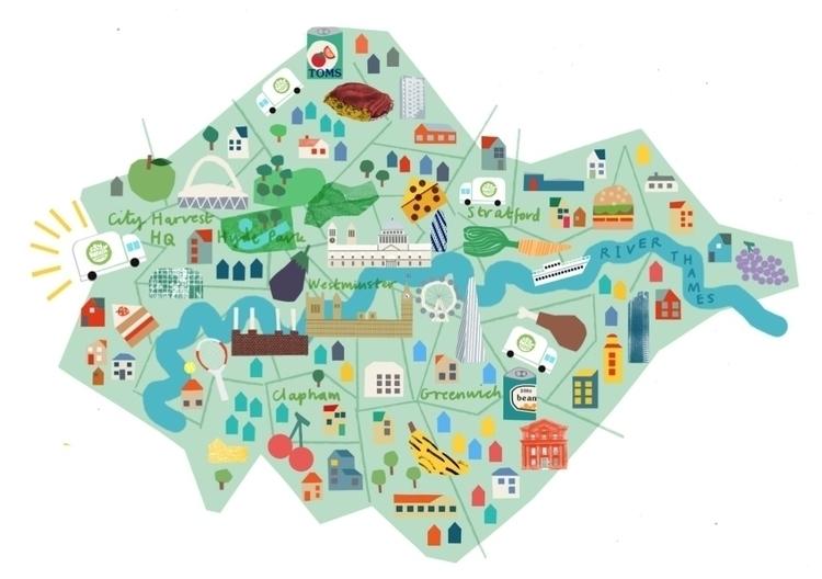 map month city harvest london-  - lizzielomax | ello