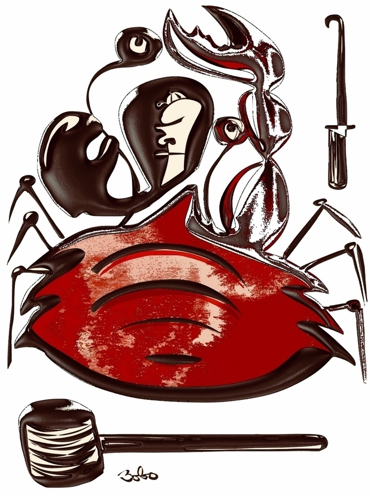 craboxer,, crab,, boxer,, bobogolem, - bobogolem_soylent-greenberg   ello