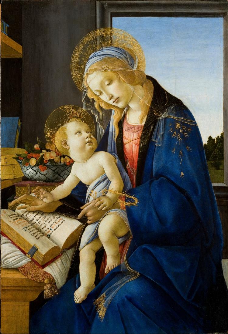 Madonna Book, Sandro Botticelli - markbarry | ello