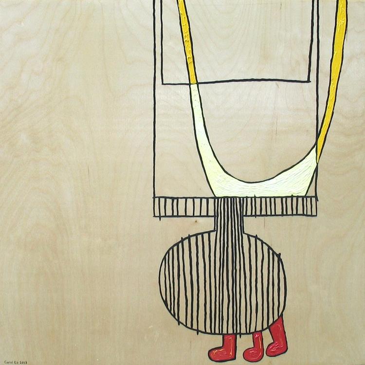 215, oil birch panel. 20 inches - carol_es | ello
