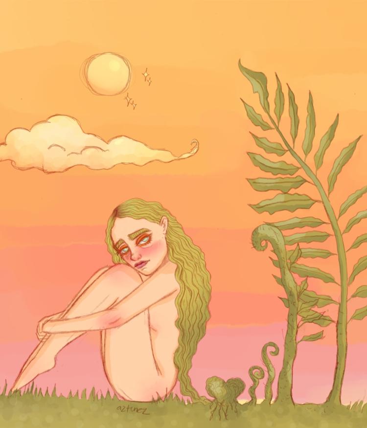 began illustrating late 2016, y - aztunez | ello