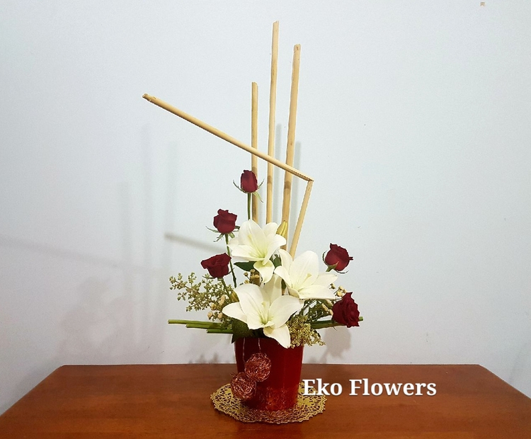Wishing Merry Christmas - flowers - ekoflowers | ello