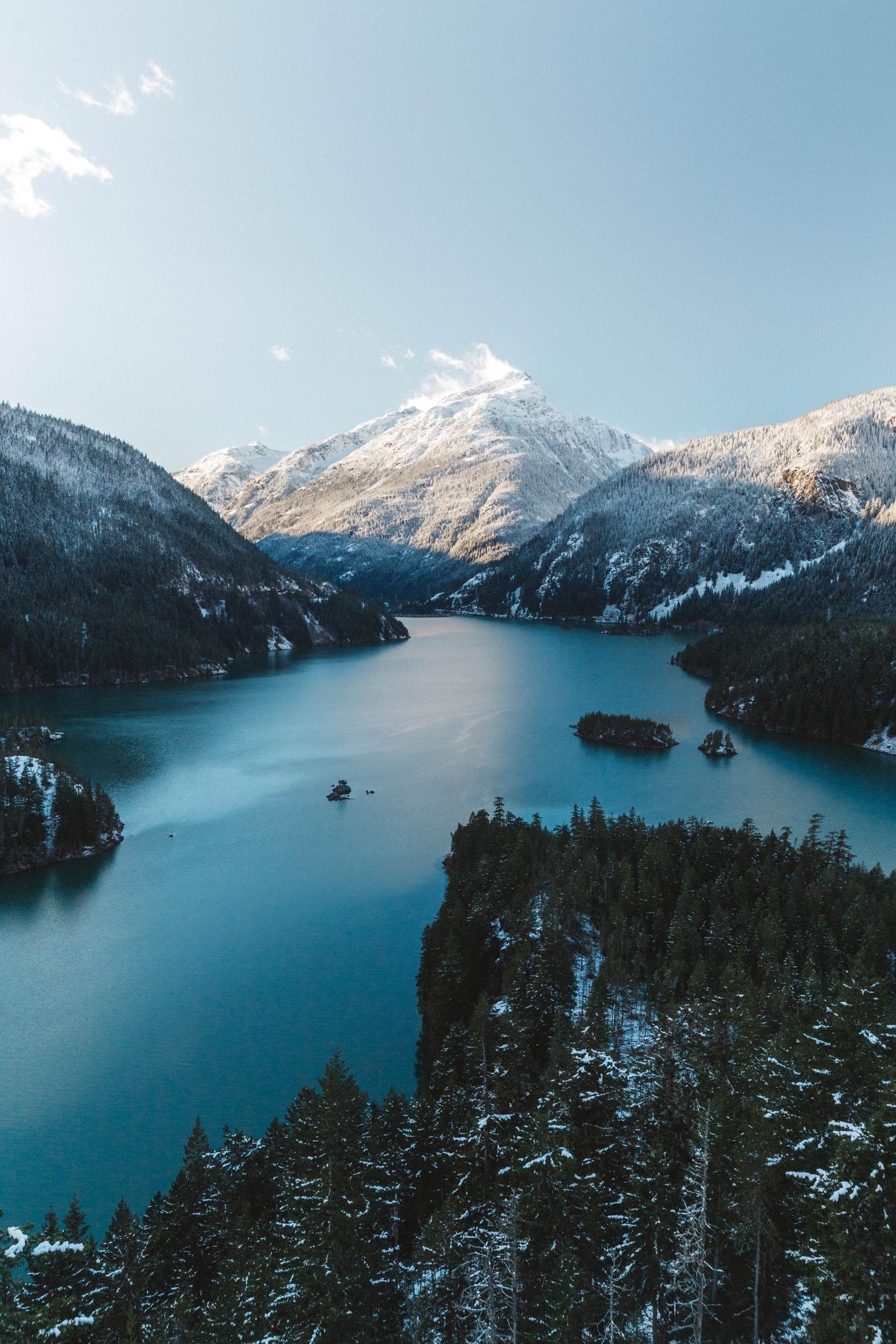 Diablo Lake Northern Cascades N - connorgrasso | ello