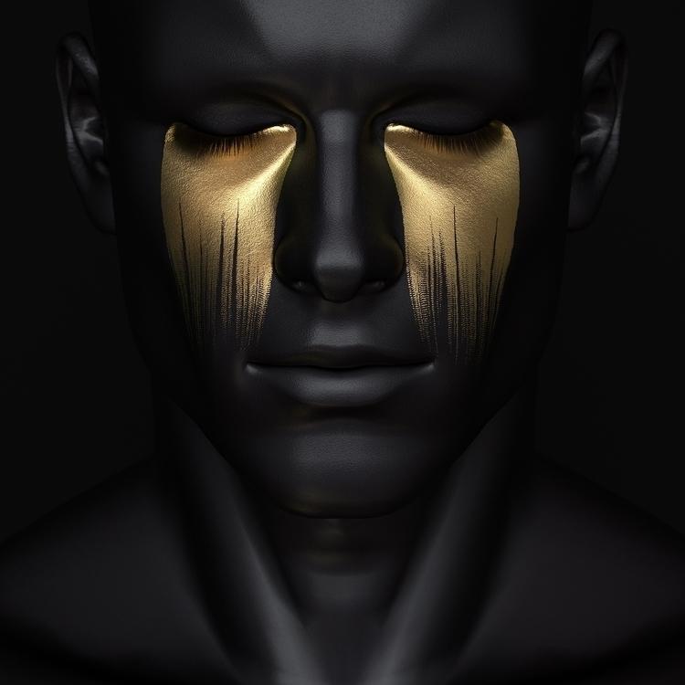 Larmes Dorées - 3D, Digital, Art - z3rogravity | ello