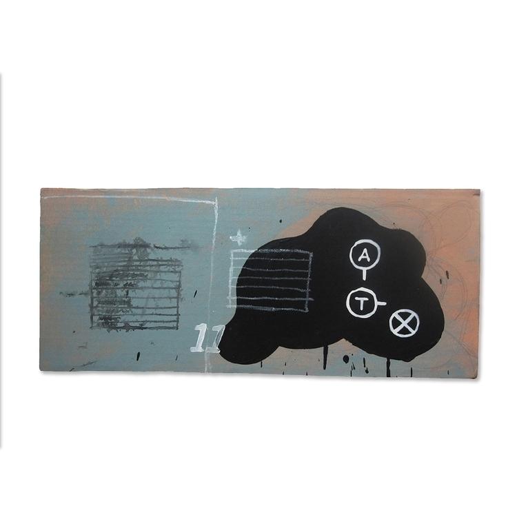 eleven / mixed media cardboard  - atzeanalogue | ello