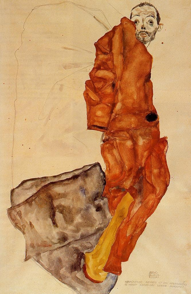 Egon Schiele: Hindering Artist  - arthurboehm | ello