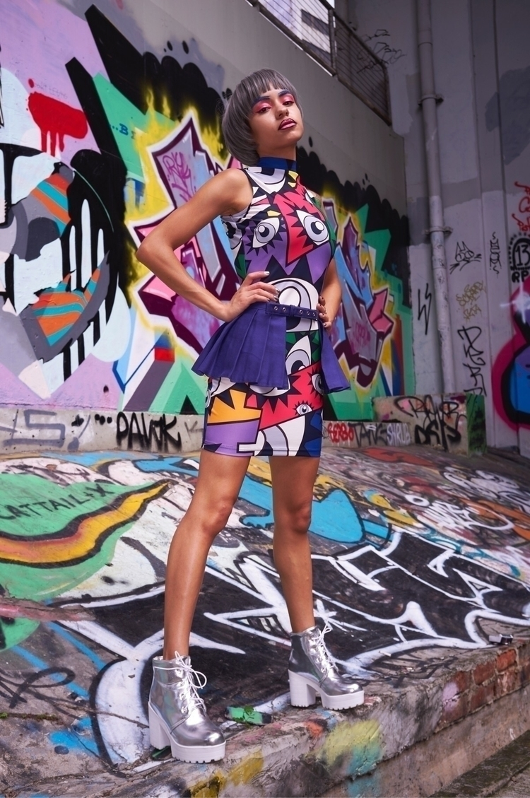 Anyixin Pop Art Dress - ellofashion - anyixin_art | ello