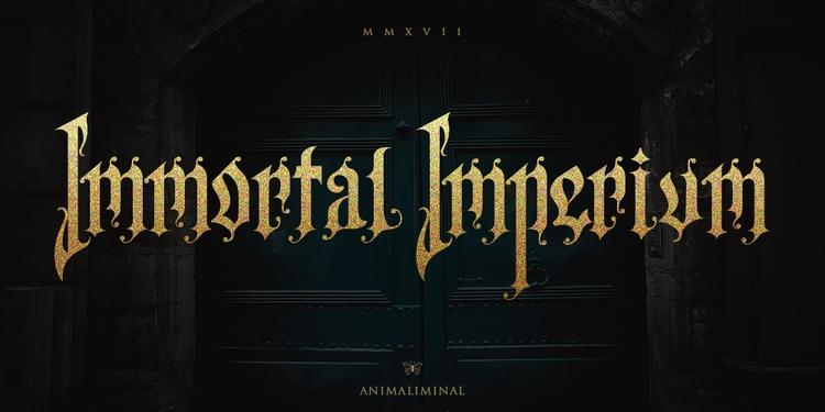 Immortal Imperium. Customized L - karthikvernekar | ello