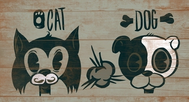 Bad Animals - illustration - thomcat23 | ello