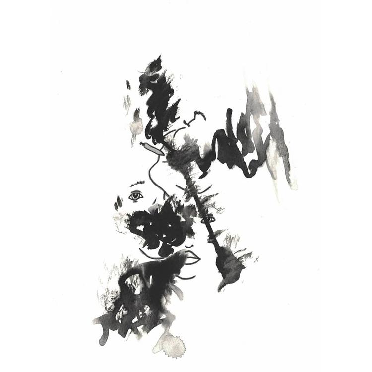 Thrice - art, minimalist, ink, blckink - alexsappy | ello