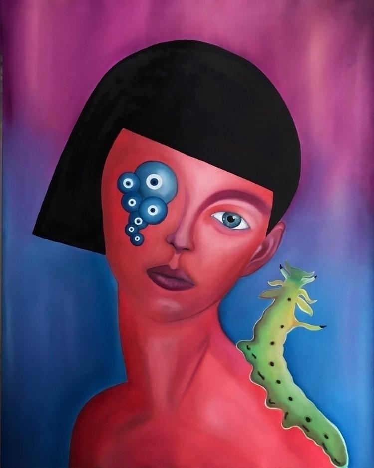 art, oilpainting, painting, illustration - liquasar   ello