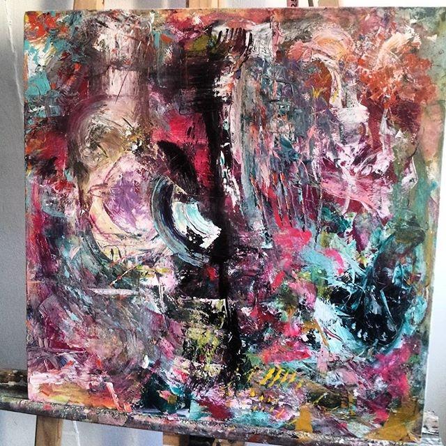 Oil acrylic canvas 50x50 cms - giselfa | ello