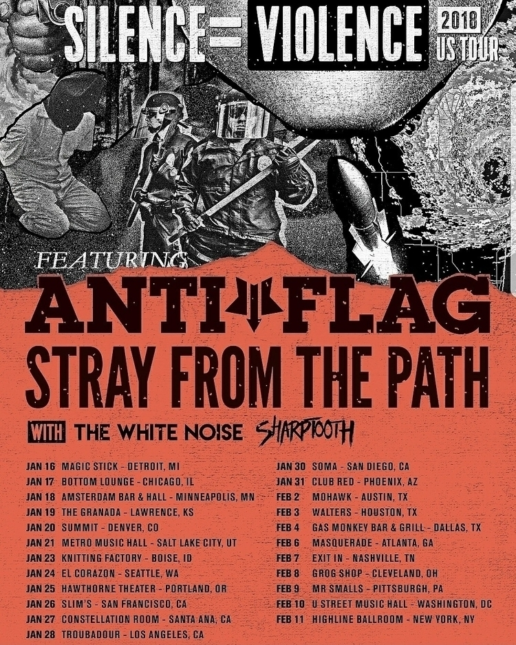 hitting road anti-flag, stray p - sharptoothmd | ello