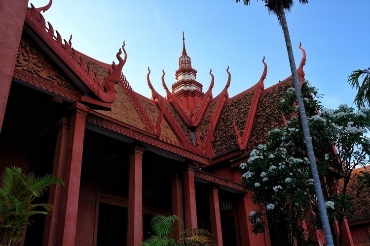Kambodschanisches Nationalmuseu - weltfarben | ello