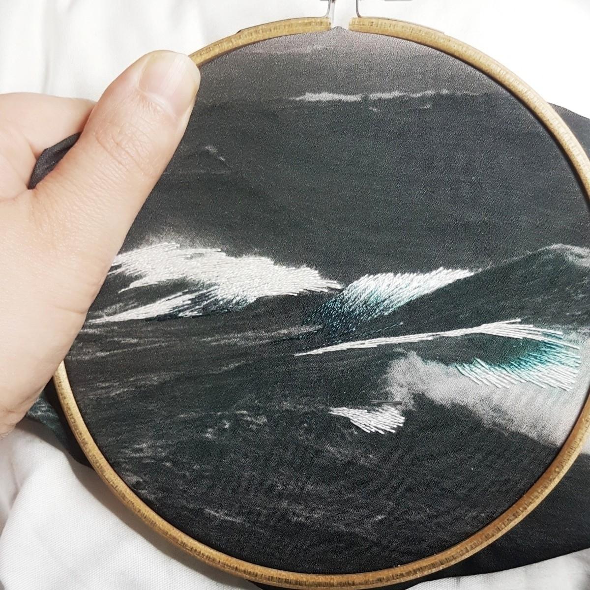 Stormy sea - fullmetalneedle   ello